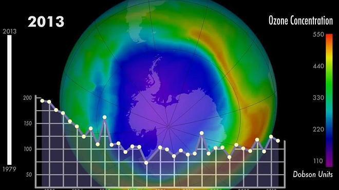 La recuperación de la capa de ozono va por buen camino