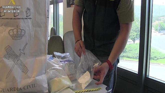 Desmantelan en Magaluf una organización dedicada al tráfico de estupefacientes
