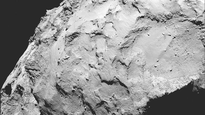 La sonda Rosseta fija el punto de aterrizaje en el cometa que persigue