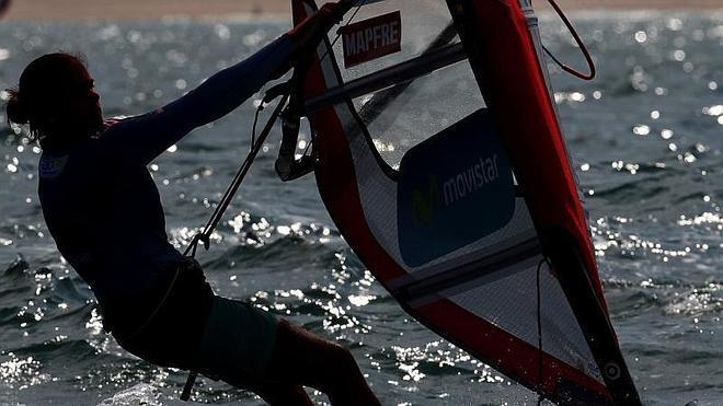 Marina Alabau da a España la primera medalla en Santander
