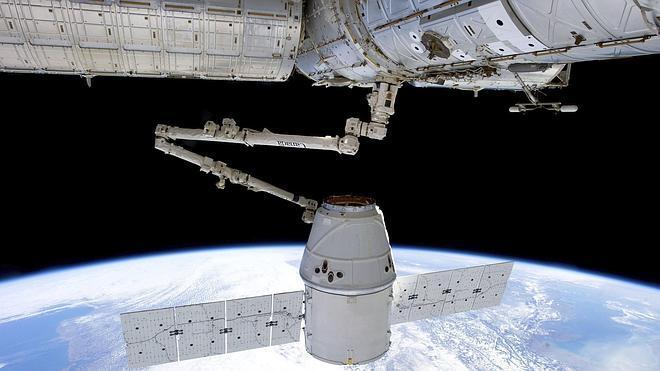 Aplazan el lanzamiento de la cápsula Dragon hacia la Estación Espacial Internacional