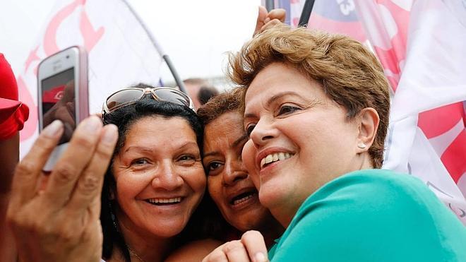 Las últimas encuestas apuntalan el favoritismo de Rousseff