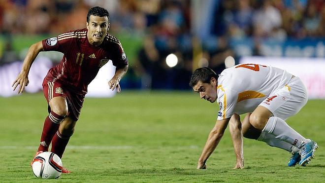 Pedro quiere seguir con su rol goleador