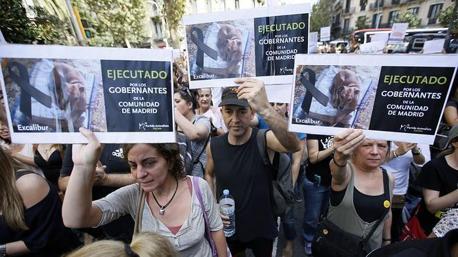 Protestas en 24 ciudades por la ejecución de Excalibur