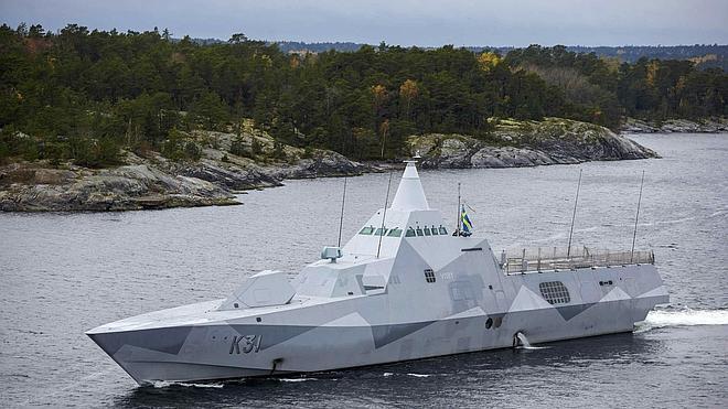 Rusia sostiene que el submarino que busca Suecia es holandés