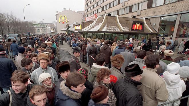 La guerra de Putin contra McDonald's