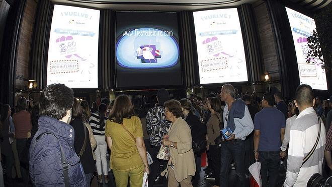 La Fiesta del Cine lleva a las salas a 517.167 espectadores en su primera jornada