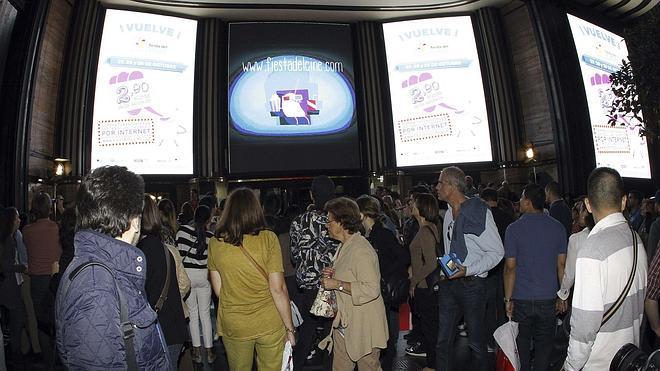 La Fiesta del Cine lleva a las salas a 2.196.101 personas en tres días