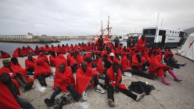 Interceptados 4.114 inmigrantes irregulares desde junio hasta octubre