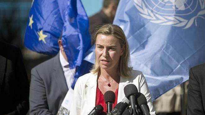 La jefa de la diplomacia de la UE pide un Estado palestino