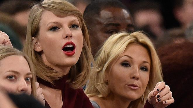 Taylor Swift, forofa de los Knicks