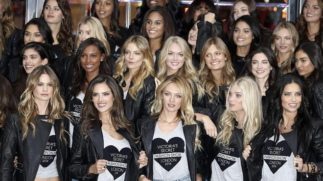Los ángeles de Victoria's Secret aterrizan en Londres