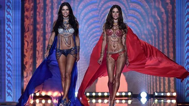 Los ángeles de Victoria's Secret despliegan las alas