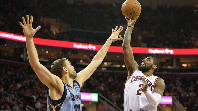 LeBron James y los Cavaliers fueron superiores a los Grizzlies de Marc Gasol