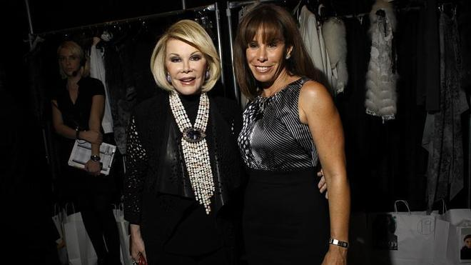 La hija de Joan Rivers denuncia por negligencia a la clínica donde murió la actriz