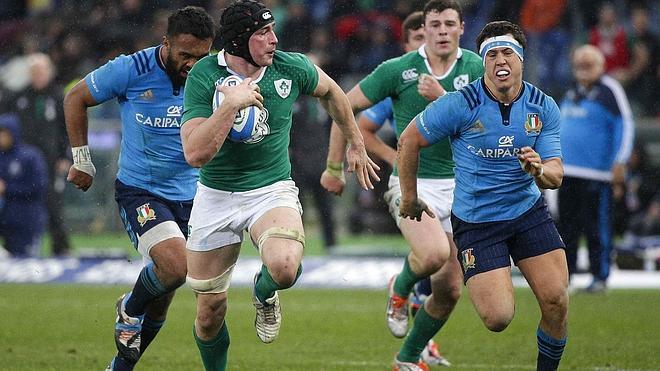 Irlanda debuta con un cómodo triunfo sobre Italia