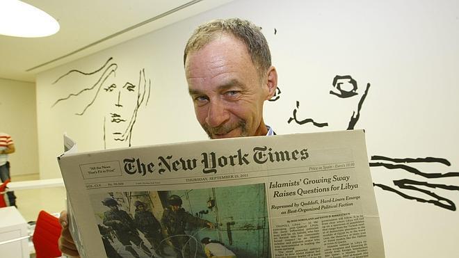 Muere en la redacción el famoso columnista del New York Times David Carr