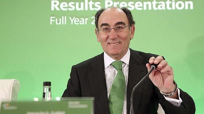 El presidente de Iberdrola ganó 9,12 millones en 2014, un 22,6% más