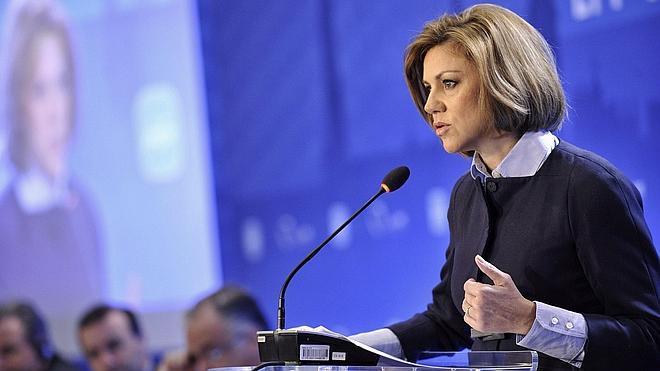 Cospedal: «El PP es la única voz contra populismos, demagogia y personalismos»