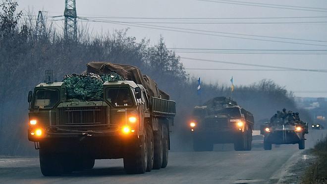 Kiev completa la retirada de armas pesadas en el este de Ucrania