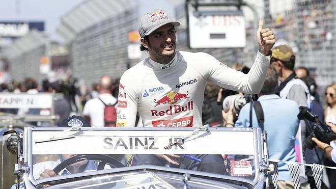 Sainz, descontento con la potencia del Toro Rosso