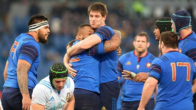 Francia se impone con facilidad a Italia (29-0)