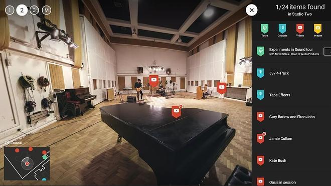 Paseo virtual por los estudios Abbey Road