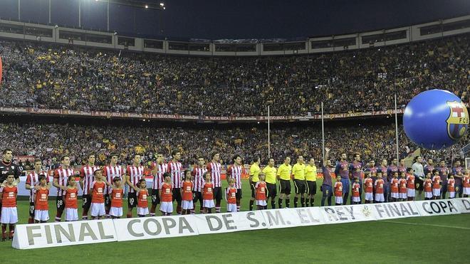 Las entradas más baratas para la final de Copa costarán 40 euros