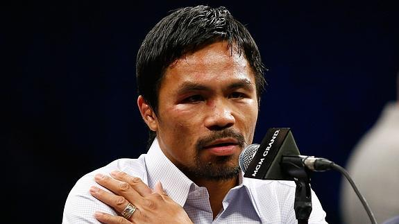 Manny Pacquiao. /