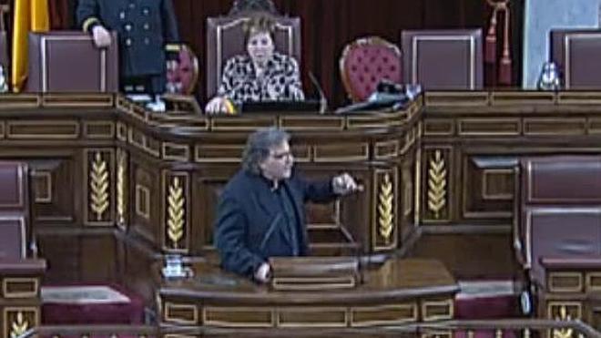 Villalobos echa a Tardà de la tribuna del Congreso tras llamar a Wert «impresentable»