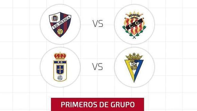 Huesca-Nàstic y Oviedo-Cádiz, duelos de la fase de ascenso a Segunda