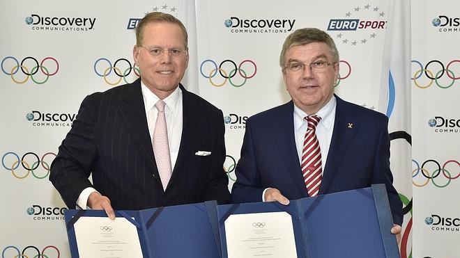 Discovery y Eurosport darán los Juegos Olímpicos desde 2018 hasta 2024