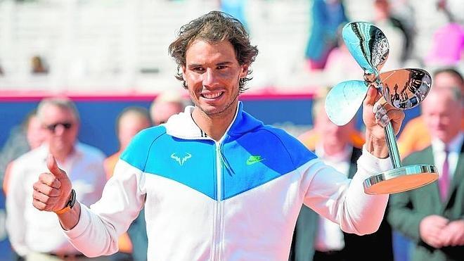 Rafa Nadal asciende a la novena plaza del ranking