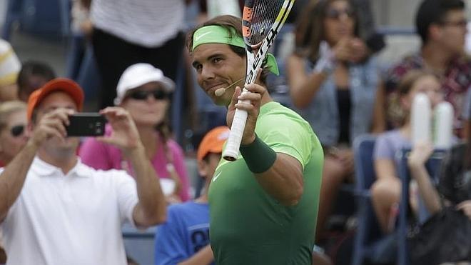 Nadal, «mentalmente fresco» para el US Open