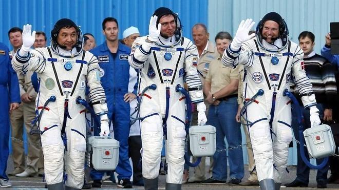 Despega la nave espacial Soyuz con tres astronautas rumbo a la EEI