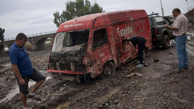 Las lluvias torrenciales dejan dos muertos y cientos de incidencias en toda Andalucía