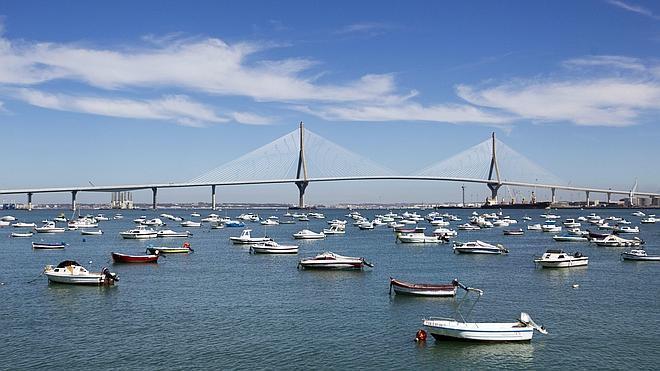 El puente 'Constitución 1812', un hito de la ingeniería española