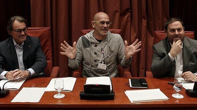 La CUP no descarta ahora apoyar a Mas para que no «descarrile» el proceso
