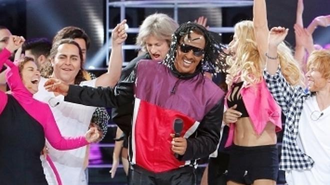 Pablo Puyol triunfa con su imitación de Stevie Wonder