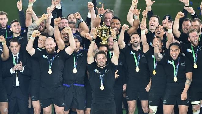 Los 'All Blacks' entran en la leyenda