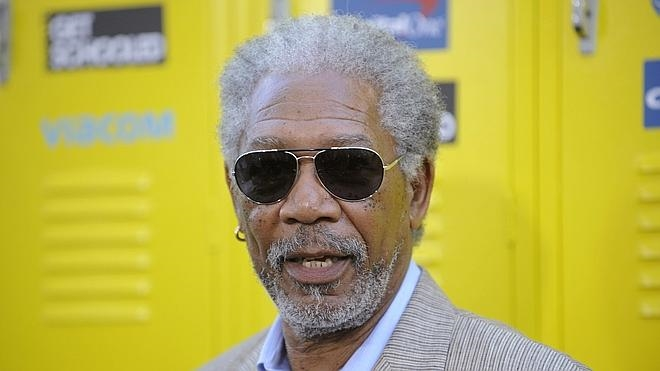 Morgan Freeman, ileso tras sufrir un accidente aéreo