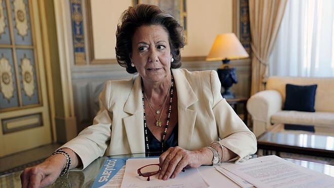 Rita Barberá: «No he adjudicado un contrato a dedo en mi vida»