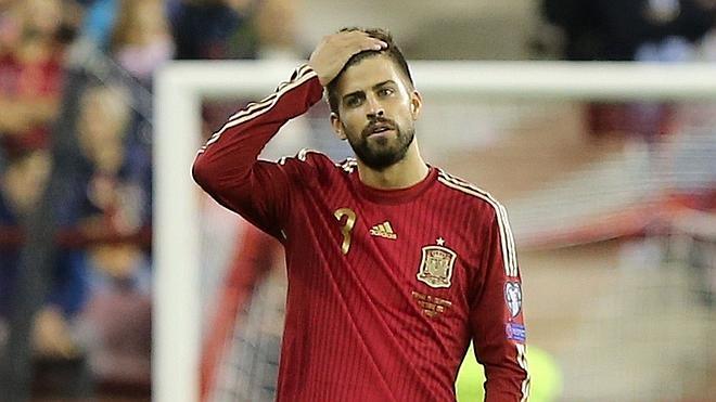 Piqué: «Juego por España porque ahora mismo soy español»