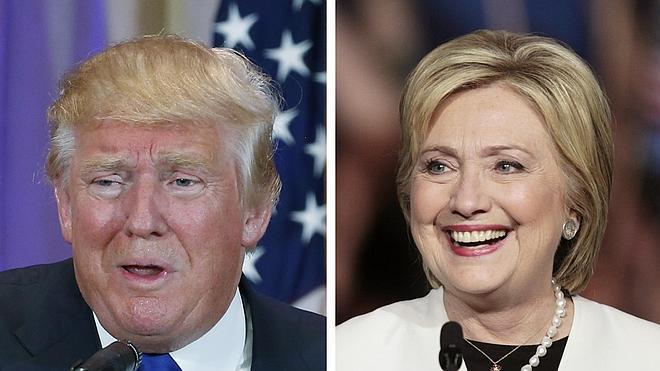 El Supermartes consolida el liderazgo de Trump y Clinton