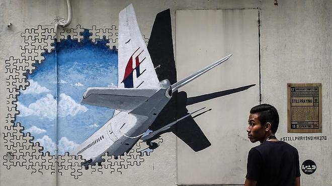 Posible nuevo fragmento del vuelo MH370 en una isla del Índico