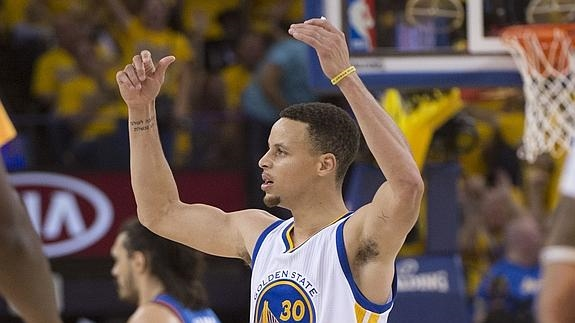 El base Stephen Curry./