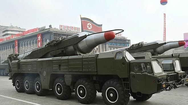 Seúl asegura que Pyongyang ha fracasado en el lanzamiento de un nuevo misil