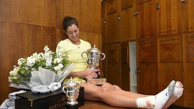 Garbiñe Muguruza: «Una cosa a tachar de la lista», afirma la nueva campeona