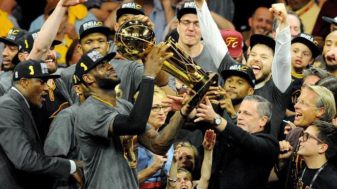 Los Cavaliers vencen 93-89 a los Warriors y ganan su primer título de la NBA
