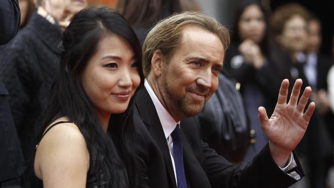 Nicolas Cage y Alice Kim se divorcian